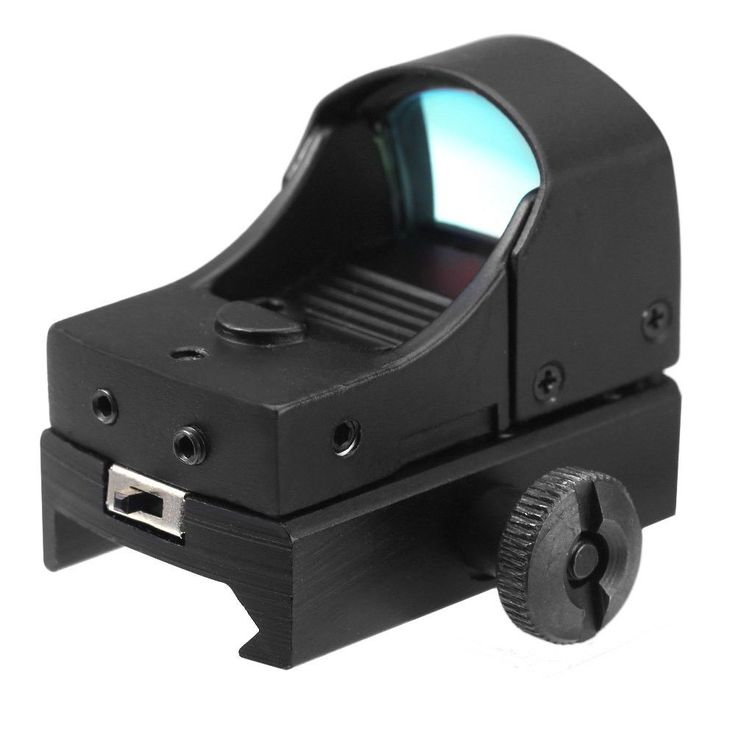 Newest Design Ultra Light Tactical Mini Holographic Reflex Sight Red Dot Scope Light Adjustable Brightness Spotting Scopes