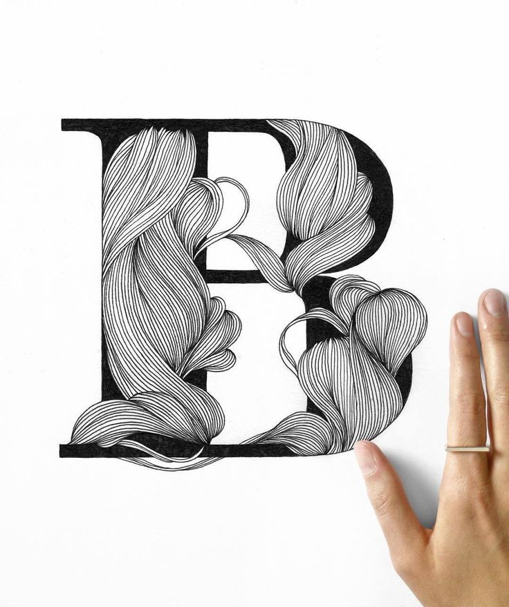 B is for Beautiful. You all are. Created by @jr_illustration #designspiration #handtype #handdrawn #type #typography - View this Instagram https://www.instagram.com/Designspiration/