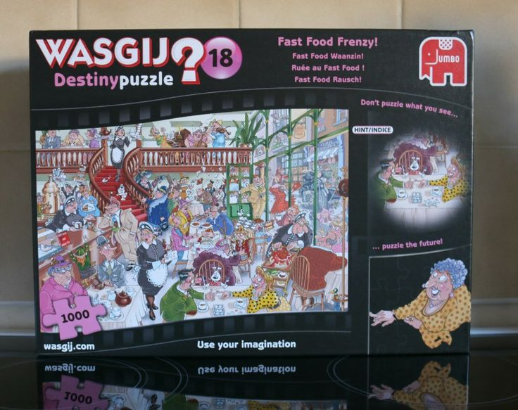 Wasgij Destiny 18 Fast Food Frenzy! – review and giveaway