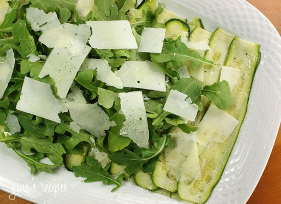 Zucchini Carpaccio #lowcarb #sidedish #summer #weightwatchers 2 points+