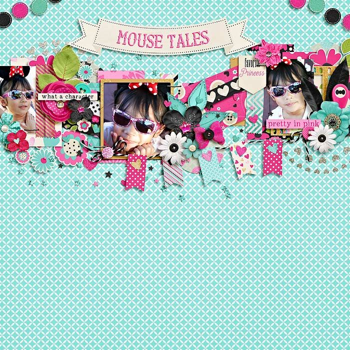 #believeinmagic : miss mouse by amber shaw & studio flergs  template : this is my today by jimbo jambo designs