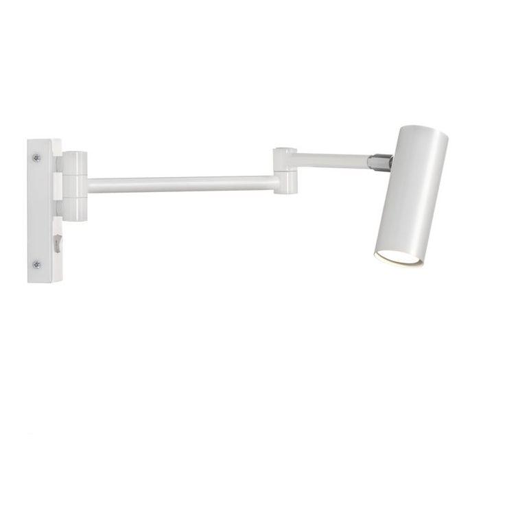 Puck med arm - hvit Örsjö Belysning - Kjøp møbler online på ROOM21.no
