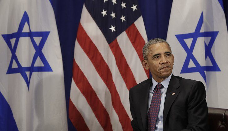 Anyone surprised that President Obama's latest failure to defend the state of Israel has been in denial for eight years. (AP Photo/Carolyn Kaster)
