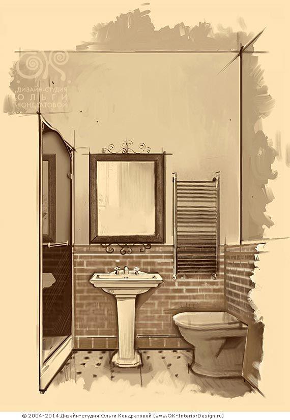 Еще стилизация под винтаж в интерьере ванной комнаты  http://www.ok-interiordesign.ru/blog/vintage-bathroom-interior.html
