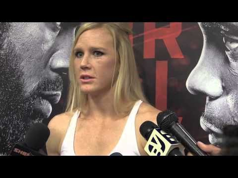"UFC 182 Holly Holm ""Living up to the Hype"" 