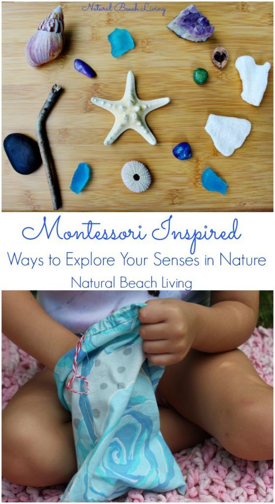 The Best Ways for Exploring Senses in Nature, Montessori Sensory, Natural Materials, Nature, A DIY Mystery Bag for Kids, Tactile Sense, Perfect for Special needs and Sensory Processing Disorder
