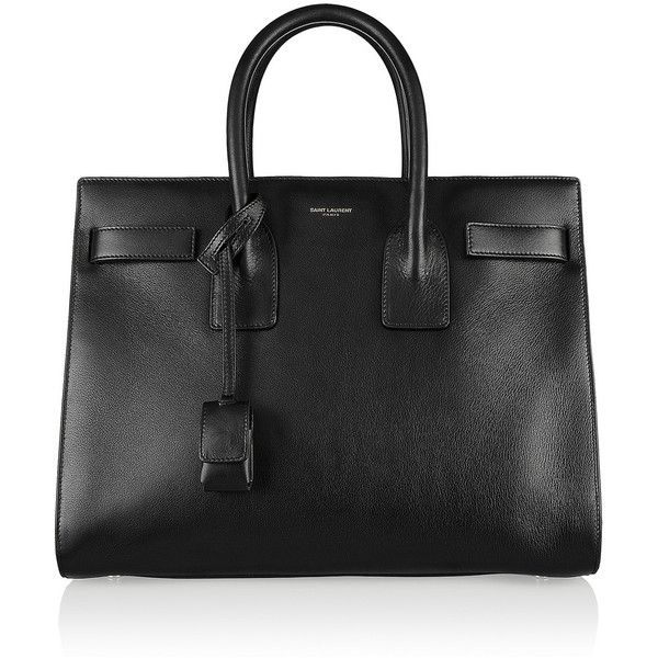 Saint Laurent Sac De Jour small leather tote found on Polyvore