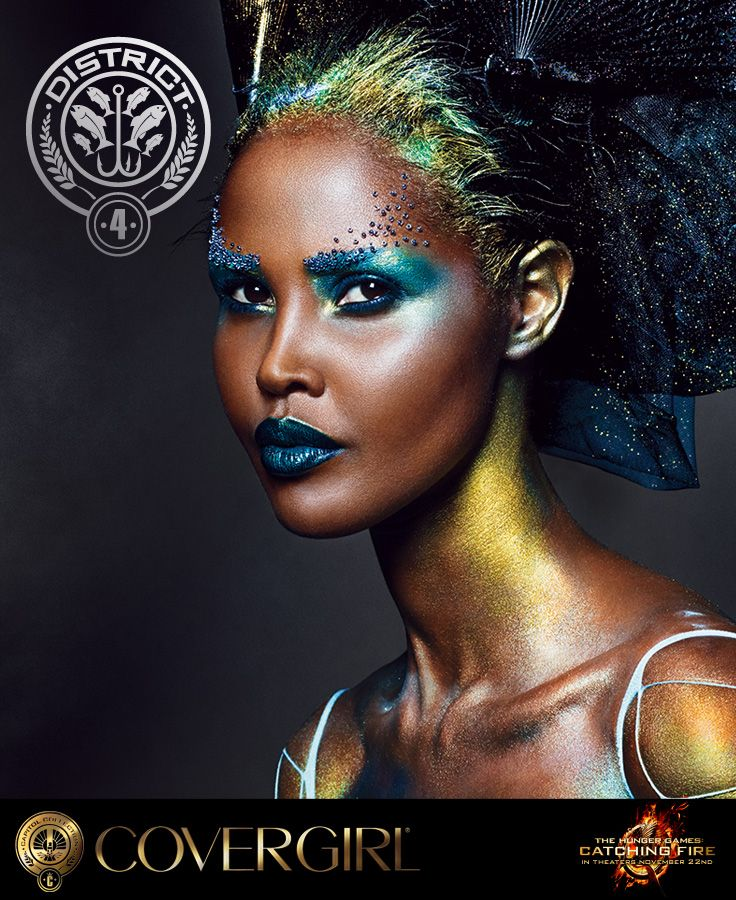 COVERGIRL's District 4 look, Fishing inspired by The Hunger Games: Catching Fire.