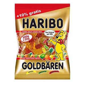 Haribo Orsetti Gold 220g caramelle gommose | Online shopping store