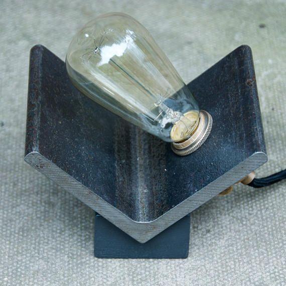 Steel Angle Lamp