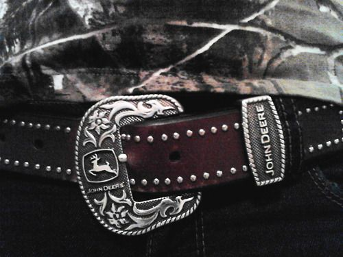 Country Girl Belt John Deere ♥