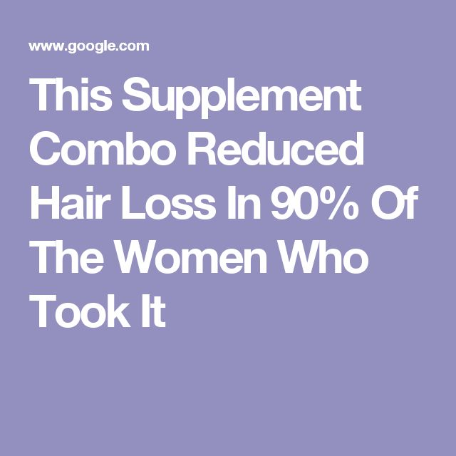 This Supplement Combo Reduced Hair Loss In 90% Of The Women Who Took It