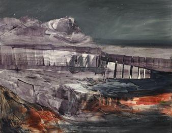 Coastline By Sidney Nolan ,1957