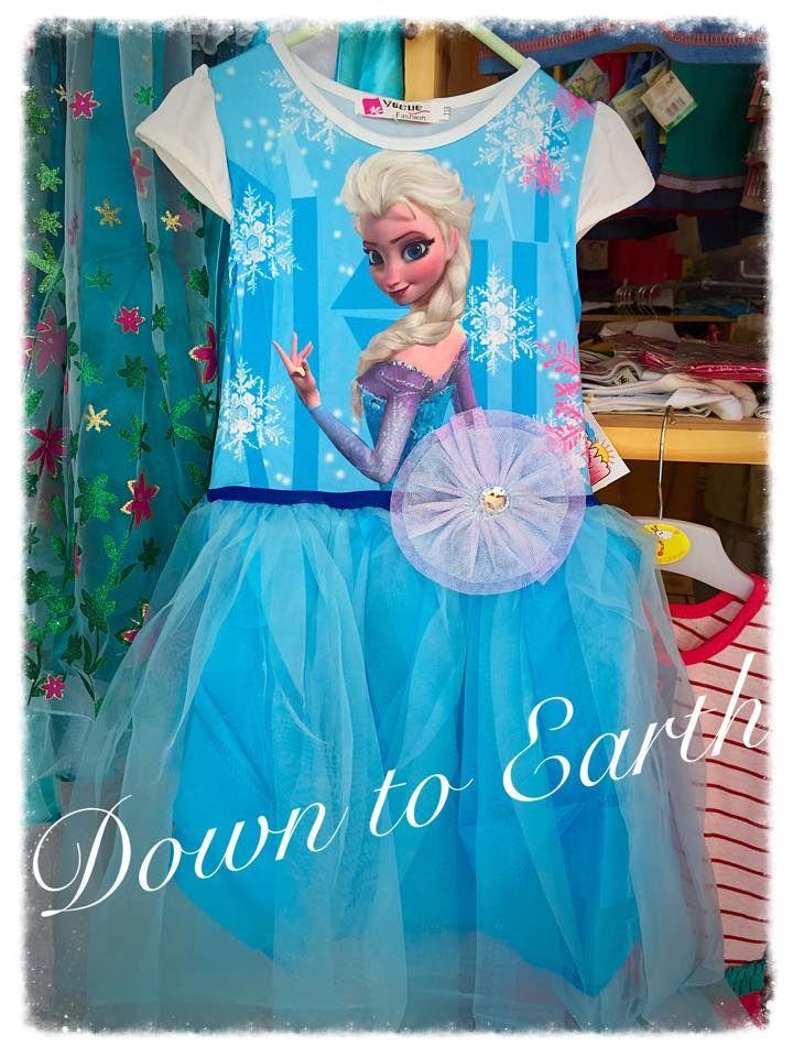 Elsa Dress, Frozen Dress, Blue Elsa Dress, Fancy Dress, Smart Casual Dress