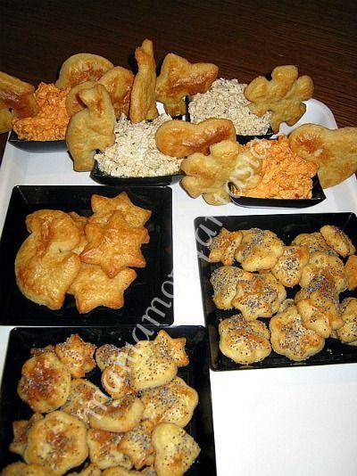 biscotti e salatini al formaggio