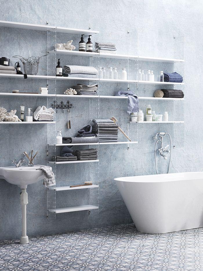 String systeem in de badkamer?! -  String System, semnata Nils Strinning