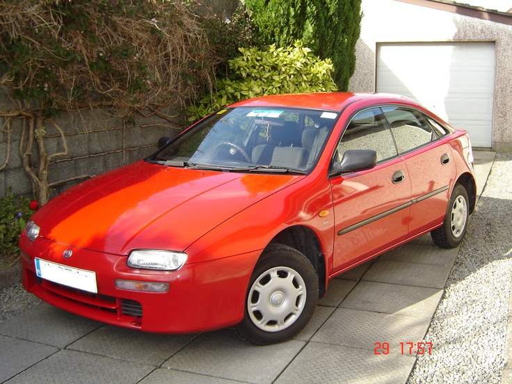A 1996 Mazda 323F Coupé. My first car.