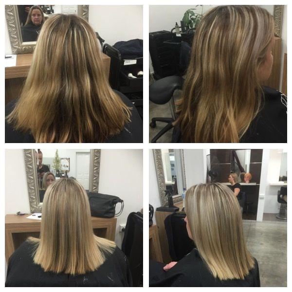 solid hair cut
