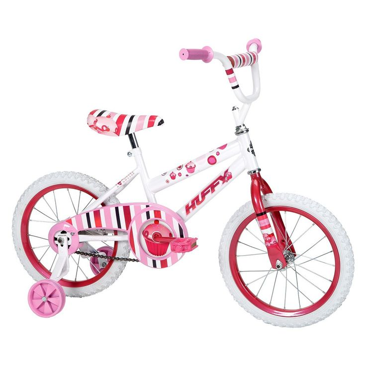 "Huffy So Sweet 16"" Girls Bike - Pink/White"