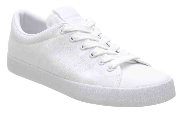 all White Tennis Shoes
