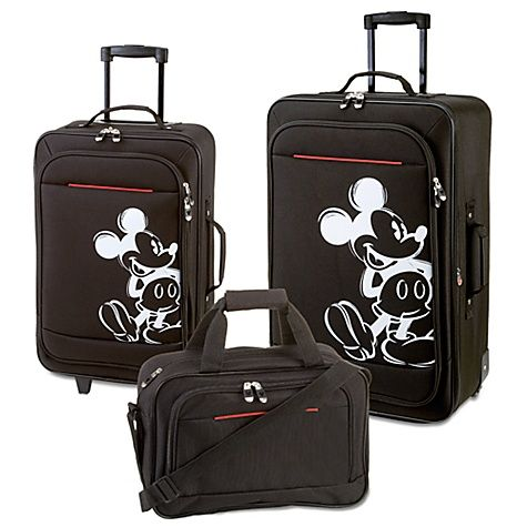 Mickey Mouse Luggage I Have Got To Have This Omg I