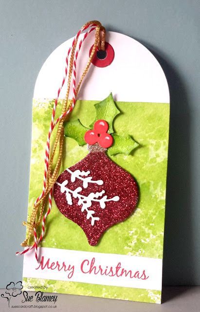 Twelve Tags of Christmas entry from Sue