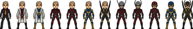 Hank Pym/Ant Man/Giantman/Goliath/Yellow Jacket. by ultimocomics