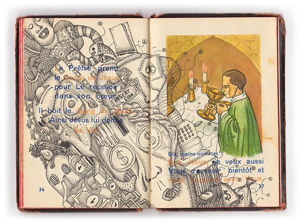 Seven Deadly Sins - 1952 religious notebook on Behance