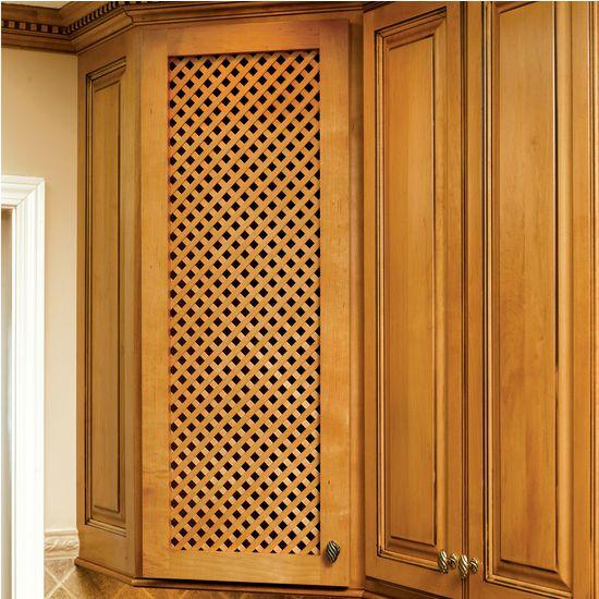 Omega National Solid Wood Lattice Inserts
