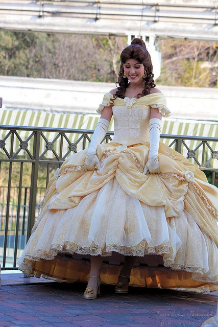 Belle....I am determined to be Belle in a musical someday...it will happen...I'm memorizing the songs to prepare. :)