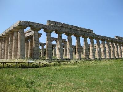 Templo de Hera I, Paestum. Arte griego