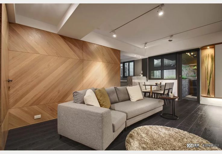 小坪數的度假屋_休閒多元風設計個案—100裝潢網