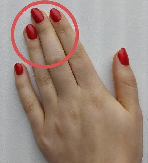 Ringfinger länger als Zeigefinger? Das verrät es über dich! | BRIGITTE.de