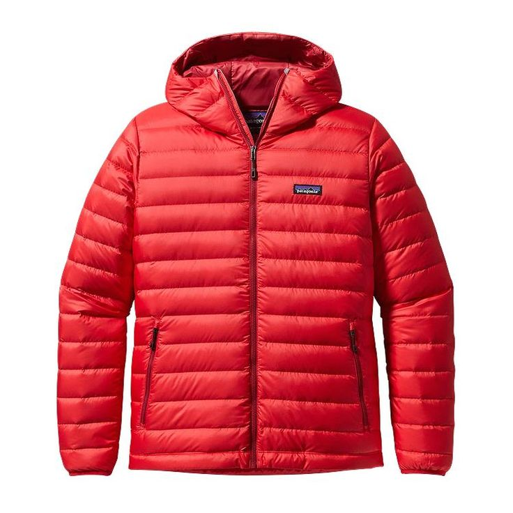 Patagonia Men\'s Down Sweater Hoody - French Red FRR