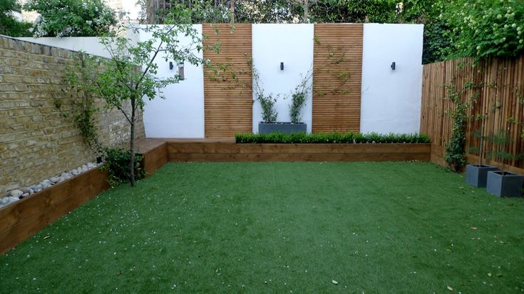 Modern courtyard garden, London | Ideas para cambiar una ...