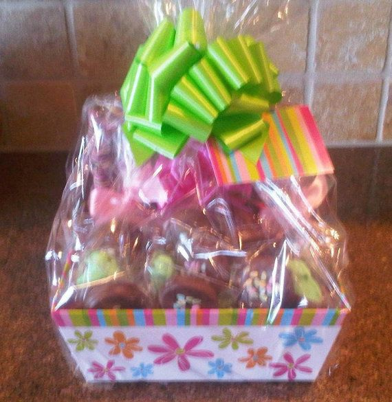 35 best gift baskets images on pinterest gift ideas gift basket easter basket chocolate dipped gift baskets items such as caramel apples oreos pretzels marshmallows brownies and negle Image collections