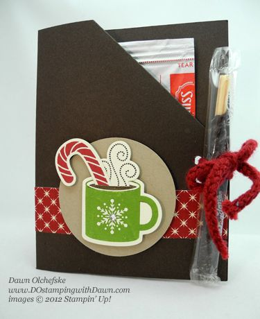 Hot cocoa packet holder with candy cane ,might be good gift for teacher ,bus driver ( how to video)