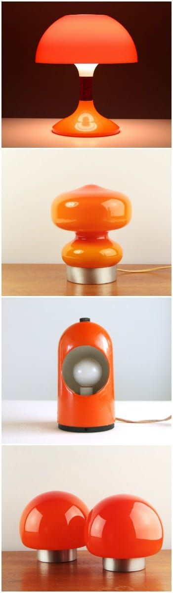Cute  Orange Table Lamps Selection  #Bedside #Design #Glass #LightBulb #Metal #simple #Vintage Choose your orange table lamp for your interior: tangy and a vintage strand, dare the orange for your table lamp.  Here a selection from the most ex...