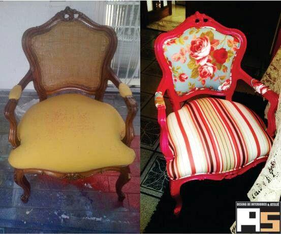 Cadeira reformada