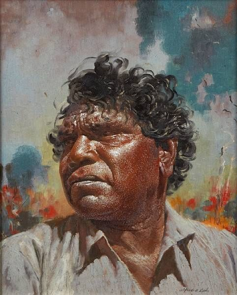 Portrait of Namatjira by Alfred William Cook  Aboriginal painter Albert Namatjira was born in a time when Indigenous Australians were not recognised as Australian citizens.