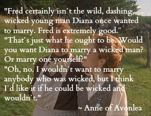 Anne of Avonlea. I love this! #anne of green gables