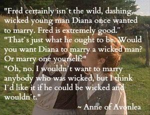 Anne of Avonlea. I love this! #anne of green gables
