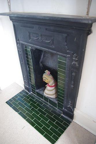 Lovely Edwardian fireplace surround