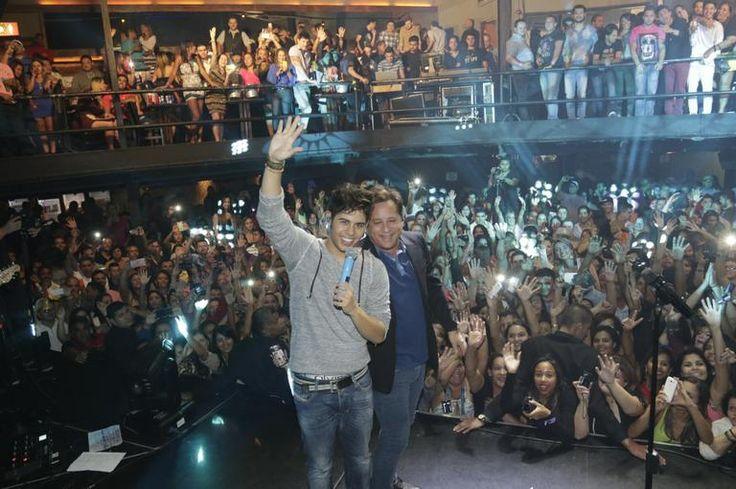 Zé Felipe, filho de Leonardo, se lança como cantor aos 16 anos