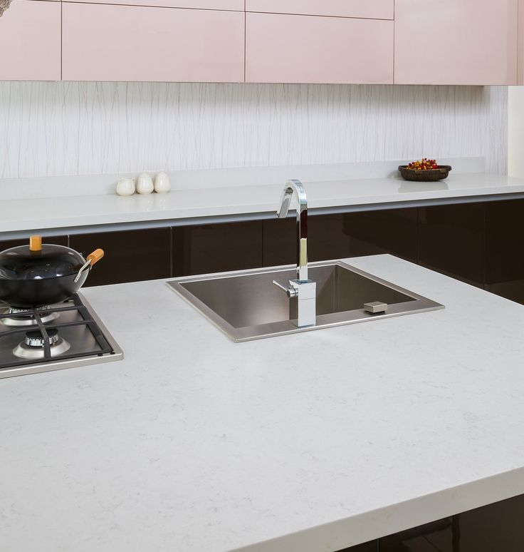 Msi Fairy White Quartz Countertops In 2019 White