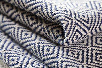 ayla cotton throw by nkuku   notonthehighstreet.com