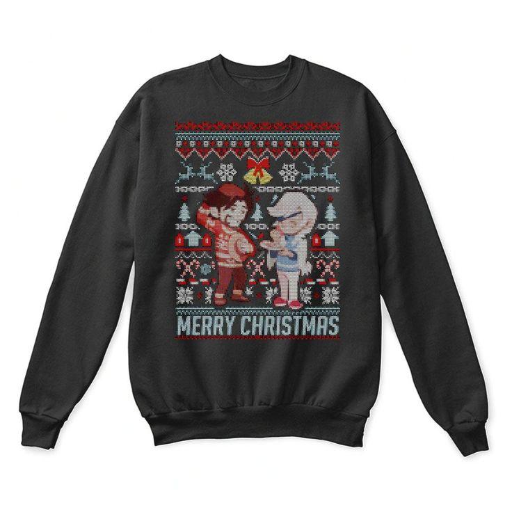 McCree und Ana Overwatch Frohe Weihnachten hässliche Pullover – TeexTee Store teextee ….   – TeexTee