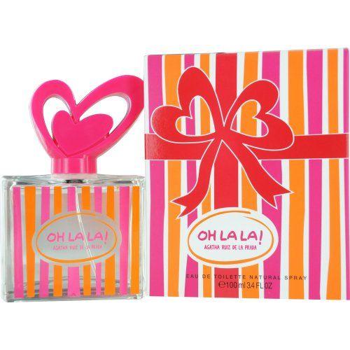 Agatha Ruiz de La Prada Eau de Parfum Spray, 3.4 Ounce Design House: Agatha Ruiz De La Prada. Fragrance Notes: Red Orange Zest, Jasmine Sambac, Bulgarian Rose, Pink Grapefruit, And Vanilla.. Recommended Use: daytime.  #AgathaRuizDeLaPrada #Beauty