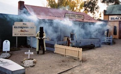 Glenrowan Tourist Center - Ned Kelly's Last Stand in Victoria Australia. Loved this place. Worth a visit!!