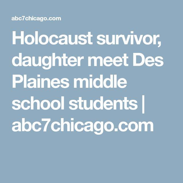Holocaust survivor, daughter meet Des Plaines middle school students   abc7chicago.com